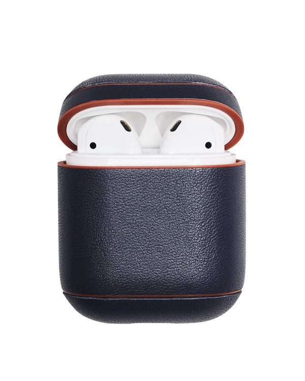 Leather AirPods Case - Navy - Online Exclusive