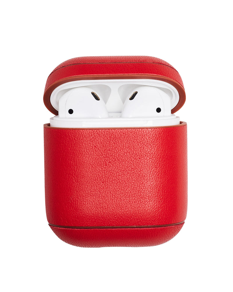 Leather AirPods Case - Red - Online Exclusive