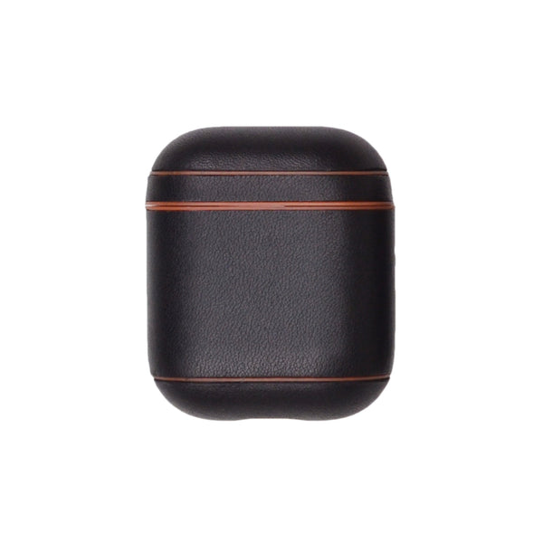 Leather AirPods Case - Black/Tan - Online Exclusive