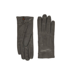 Abruzzo Women's Leather Winter Gloves - Turtle Dove - FINAL SALE