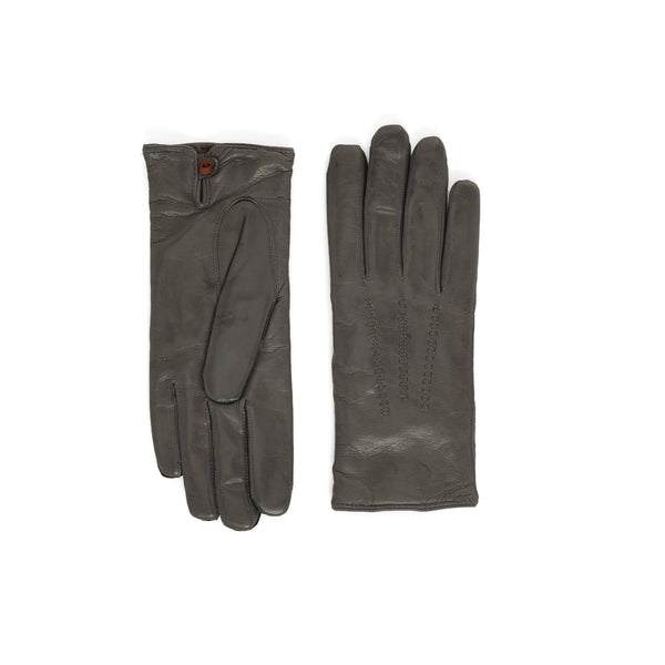Abruzzo Women's Leather Winter Gloves - Turtle Dove