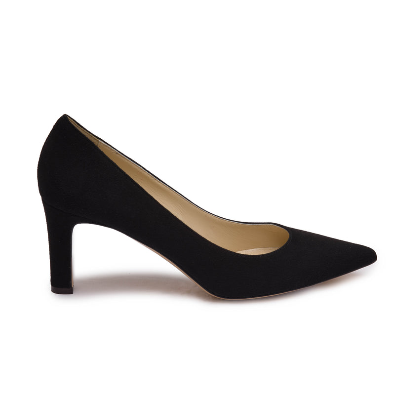 Ashley Women's Pump  - Black Suede