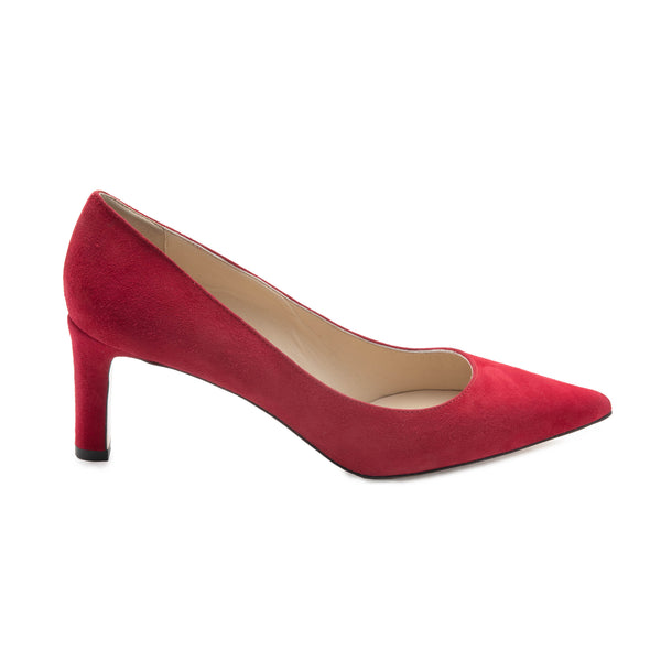 Ashley Women's Pump  - Red Suede