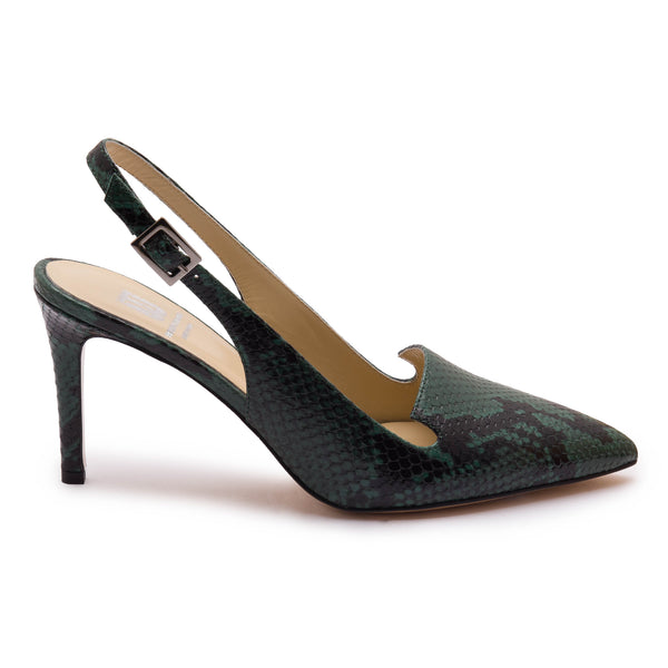 Aurora Women's Pump - Green Python