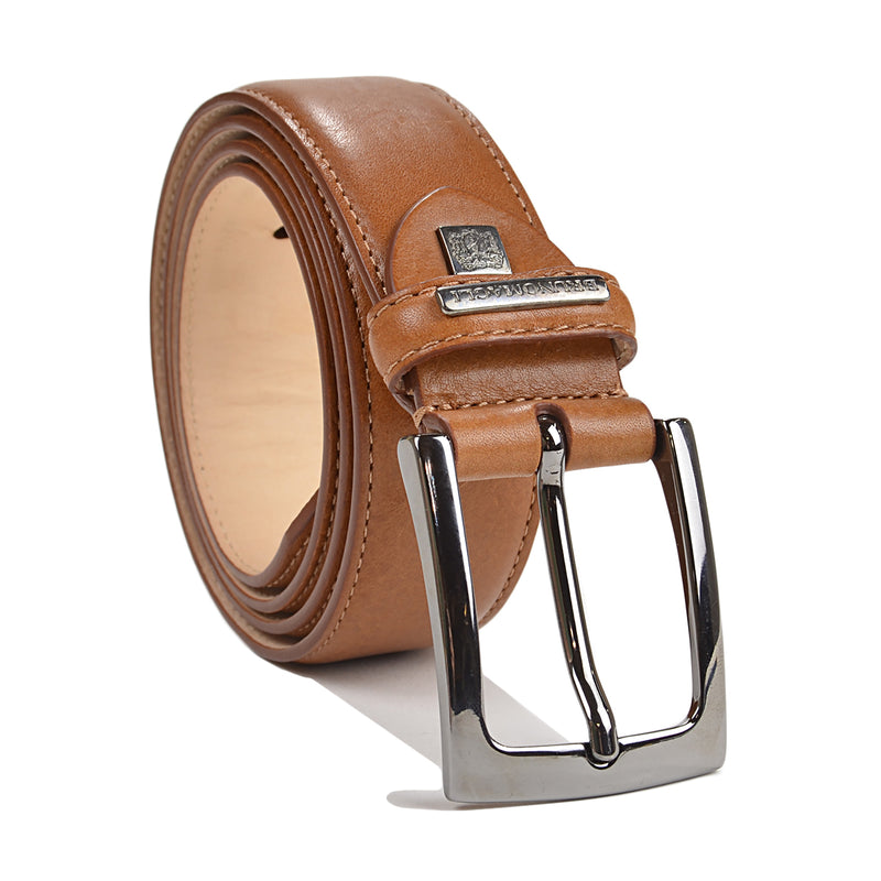 Soft Grain Leather Men's Belt