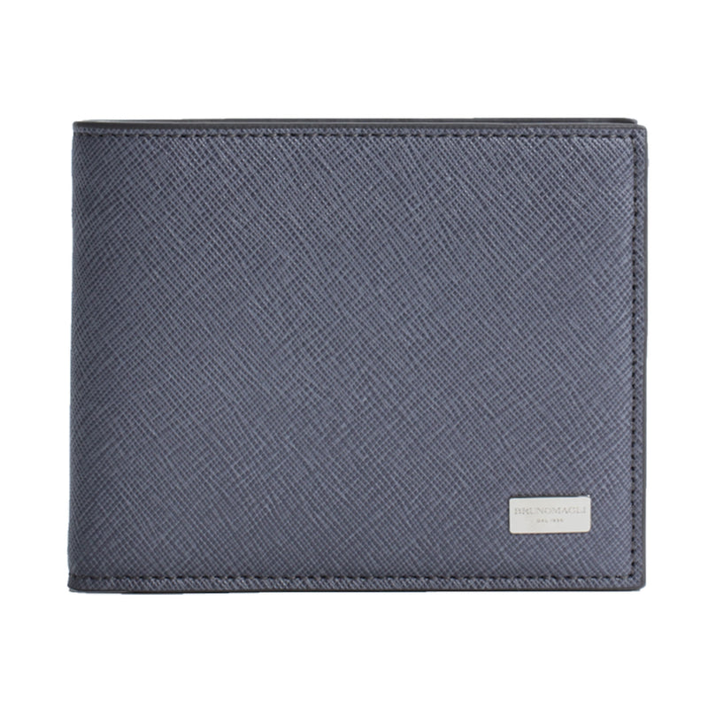 Saffiano Wallet - Grey