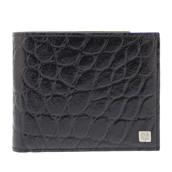 Crocodile-Print Wallet