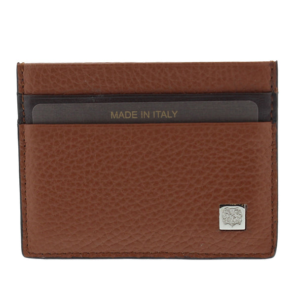 Bicolor Small Wallet - Brown