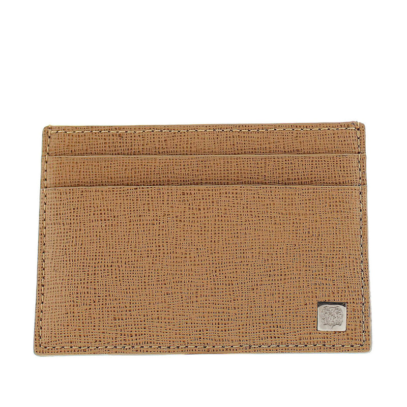 Neoclassico Card Case - Tan