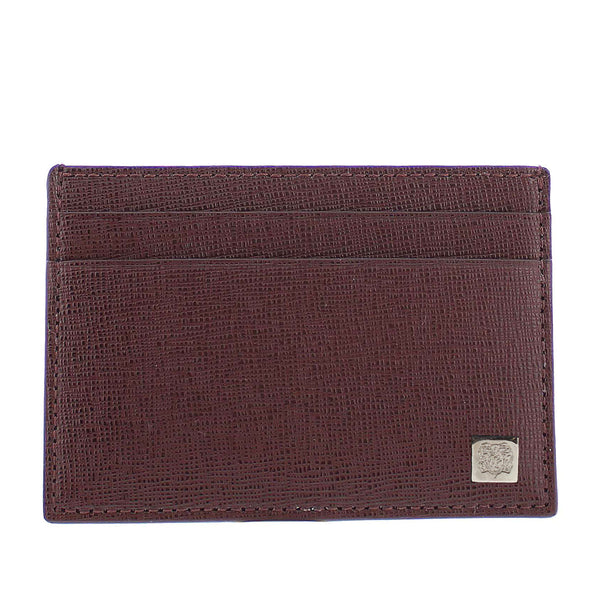 Neoclassico Card Case - Wine