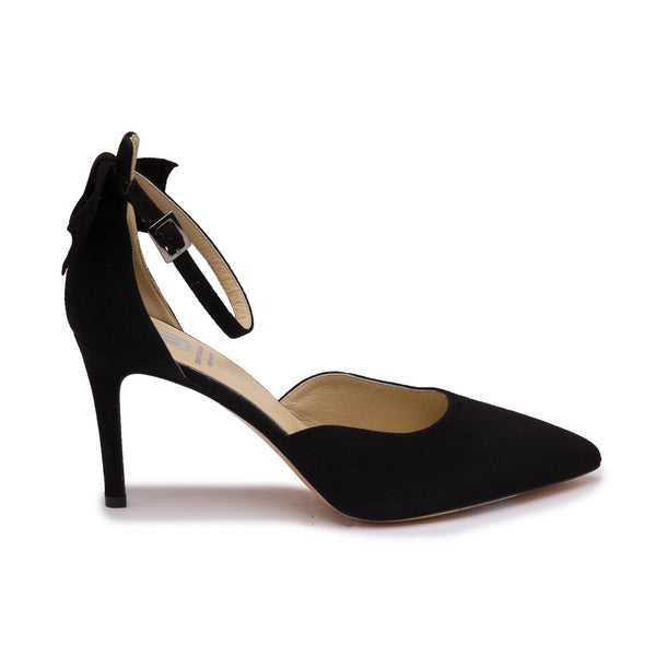 Bice Women's Pump  - Black Suede