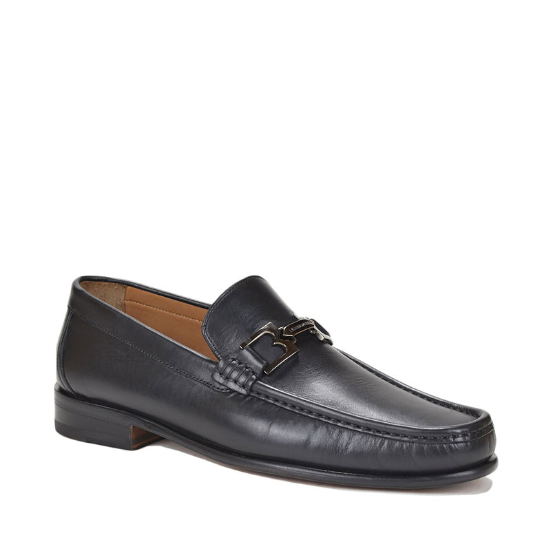 Bigolo Bit Loafer - Black Leather