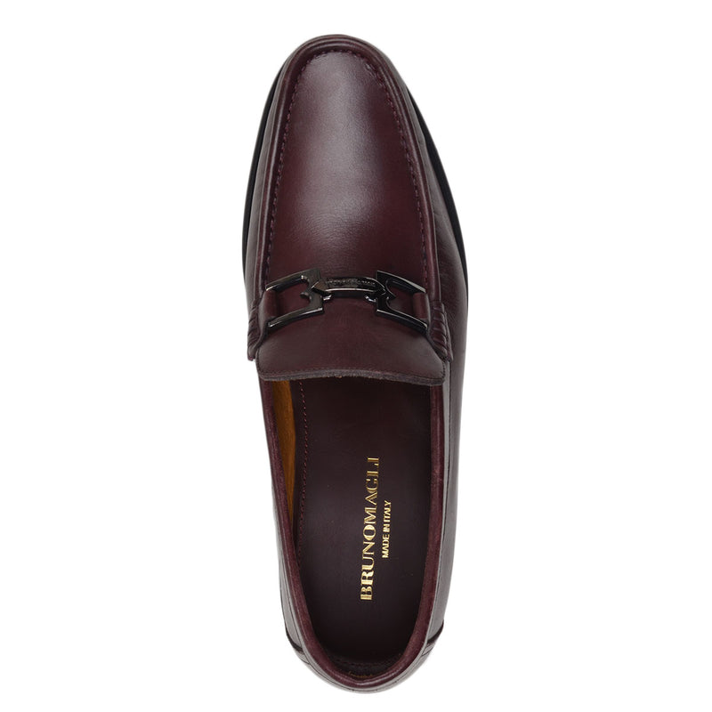 Bigolo Bit Loafer - Bordo Leather - FINAL SALE