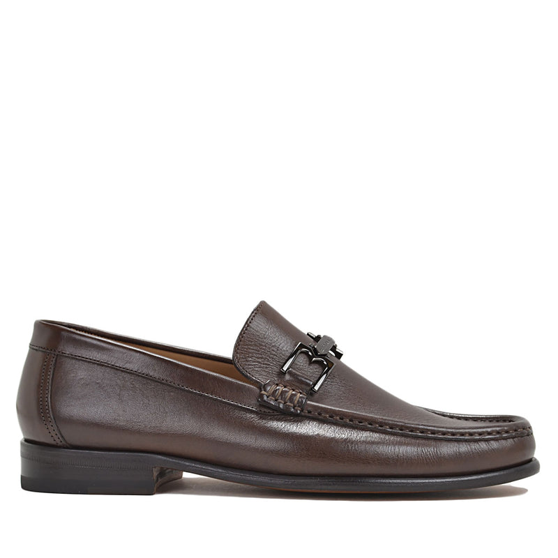 Bigolo Bit Loafer - Dark Brown Leather