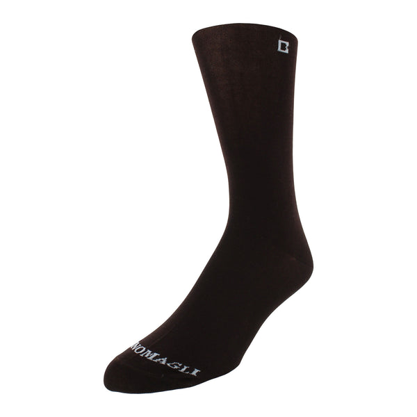 Men's Solid Dress Socks - Brown