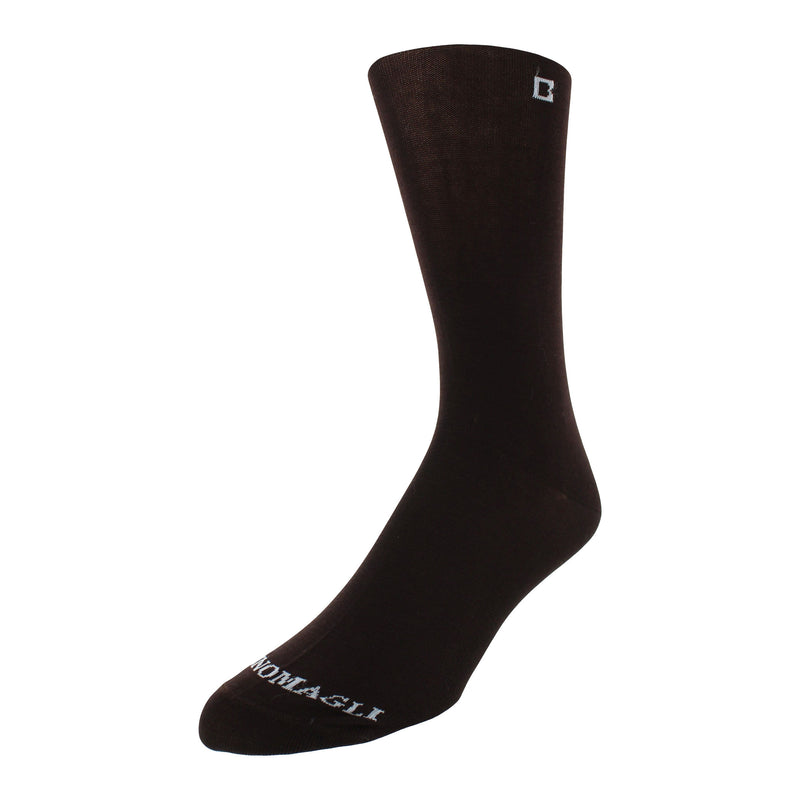 Men's Solid Dress Socks - Brown - FINAL SALE
