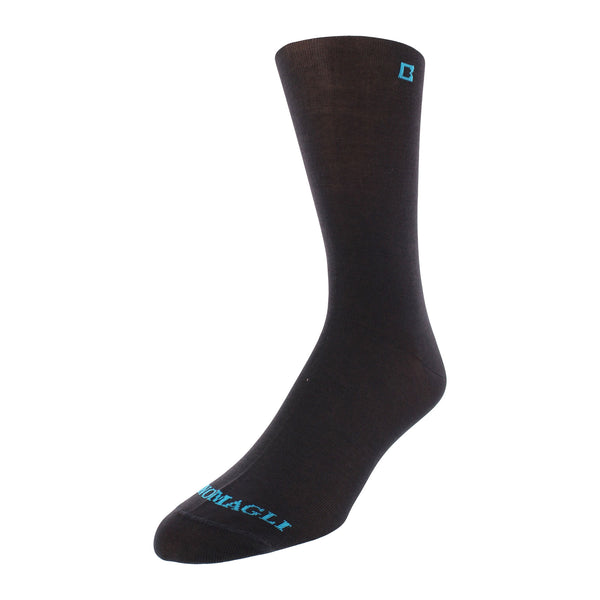 Men's Solid Dress Socks - Charcoal