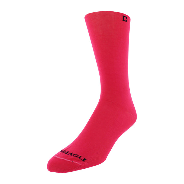 Solid Men's Dress Socks - Pink