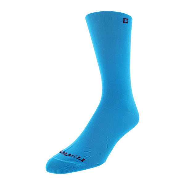 Solid Men's Dress Socks - Turquoise