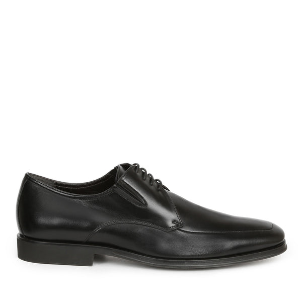 Rich Leather Lace-Up - Black Leather - FINAL SALE