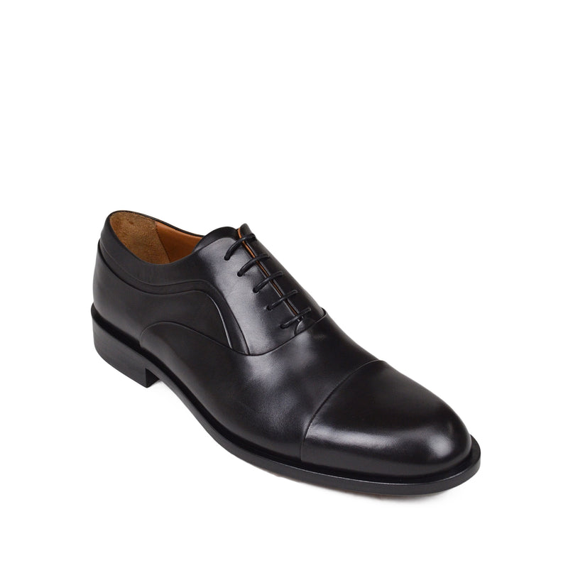 Sassiolo Lace-Up Oxford - Black Leather