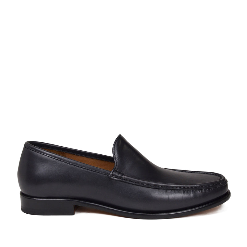 Ello Venetian Loafer Slip-on - Dark Grey Leather