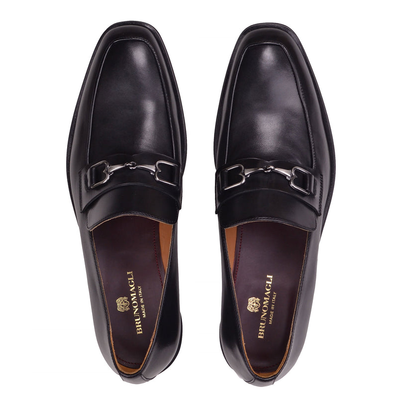 Nardo Leather Bit Loafer - Black