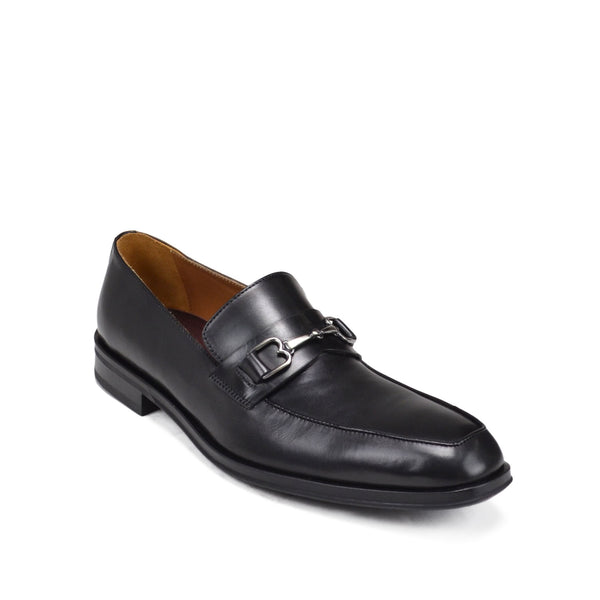 Nardo Leather Bit Loafer - Black Leather