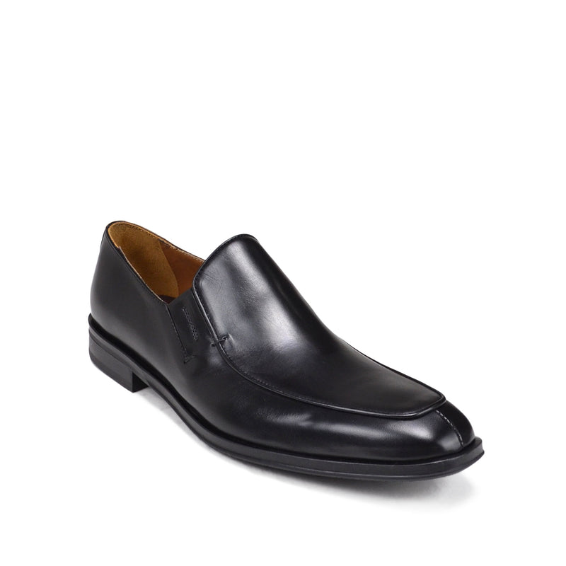 Nola Leather Slip-On Loafer - Black Leather