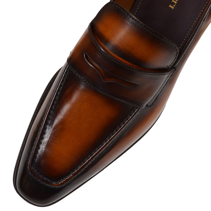 Corrado Penny Loafer - Cognac Leather