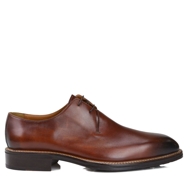 Norris Dress/Casual Oxford - Cognac Leather