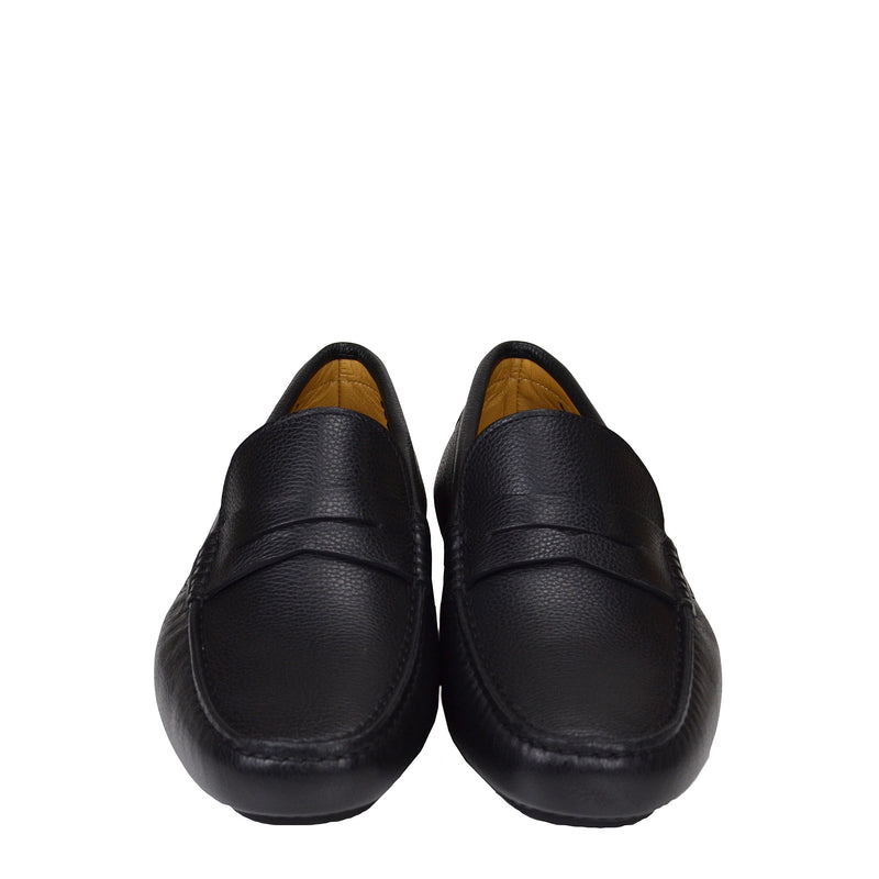 Dragone Driving Loafer - Black
