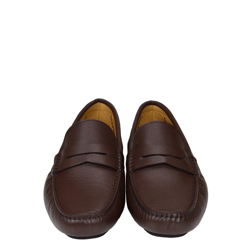 Dragone Driving Loafer - Brown