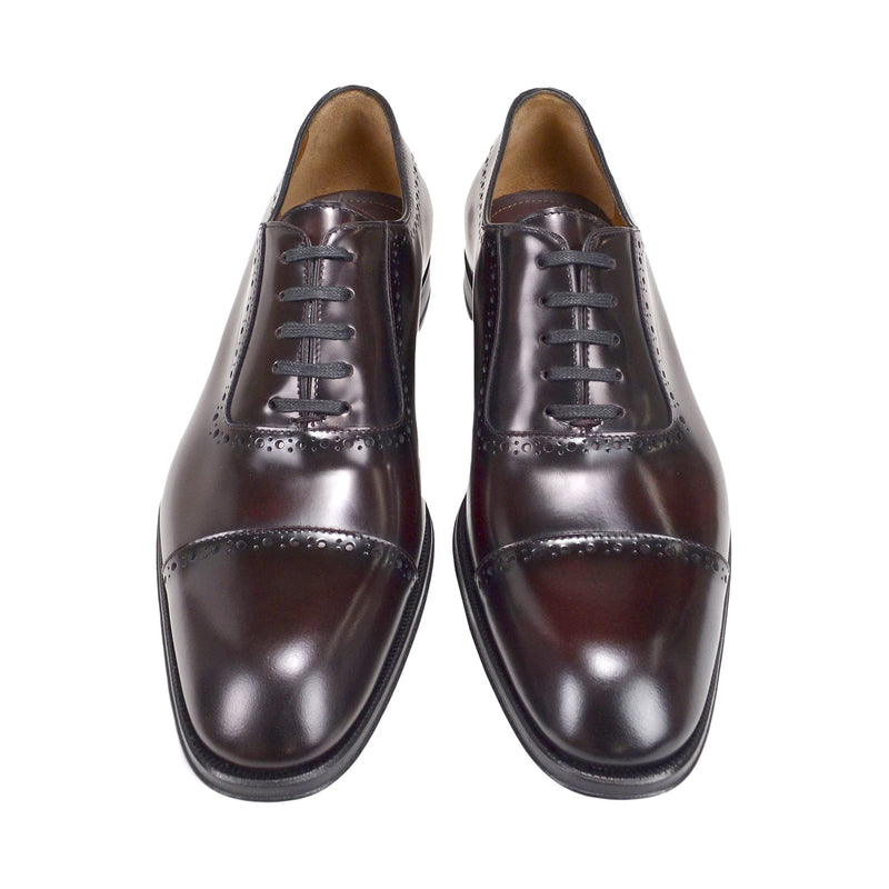 Lucca Cap-toe Oxford - Bordo Leather