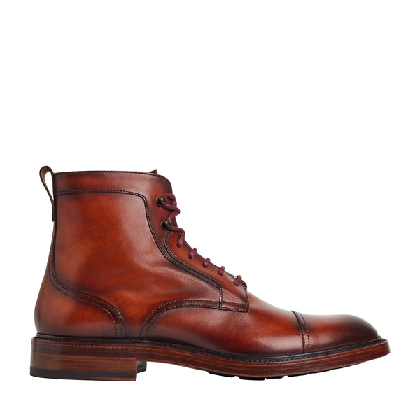 Antonio Boot  - Brown Leather - Online Exclusive