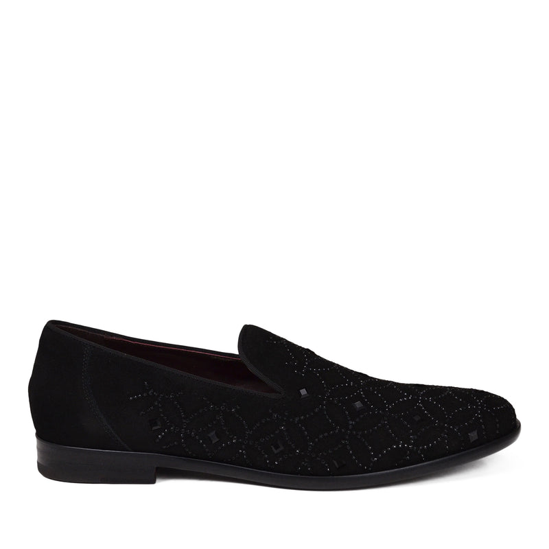 Picasso Murano Suede Slip-On - Black Suede