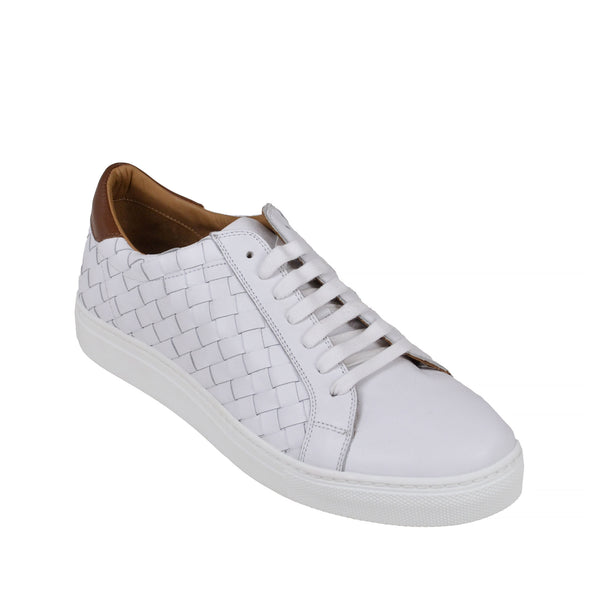 Malpensa  - White Leather - Soho Exclusive