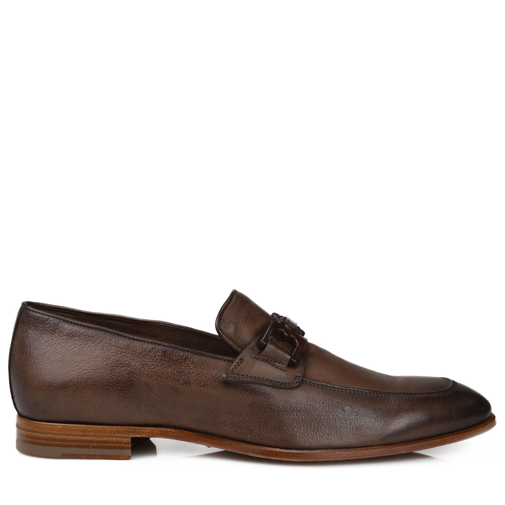 2edb2daf5 Indio Leather Bit Loafer - Dark Brown – Bruno Magli