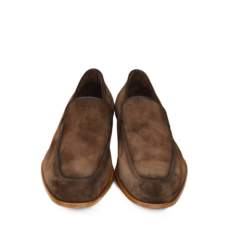 Ivan Suede Slip-On Loafer - Brown