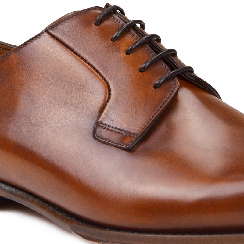 Fede Lace-Up Dress Shoe - Cognac