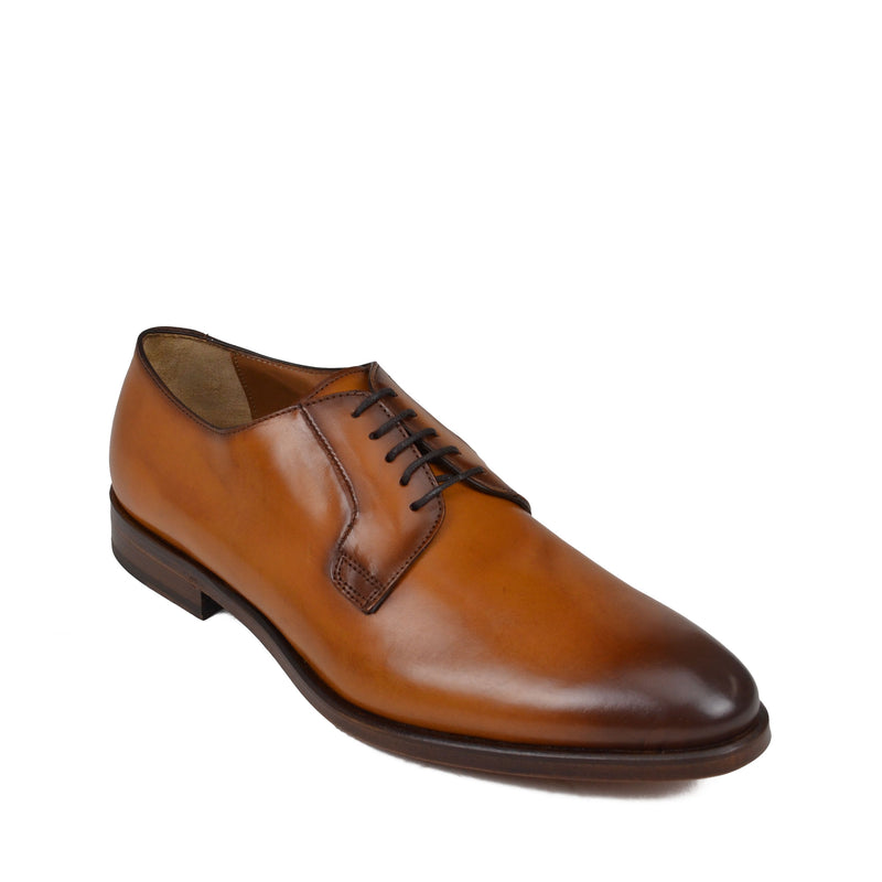 Romeo lace up - Cognac Leather