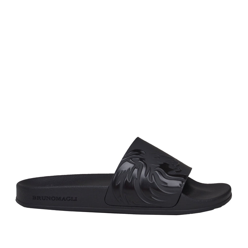 Manolo Slide - Black EVA
