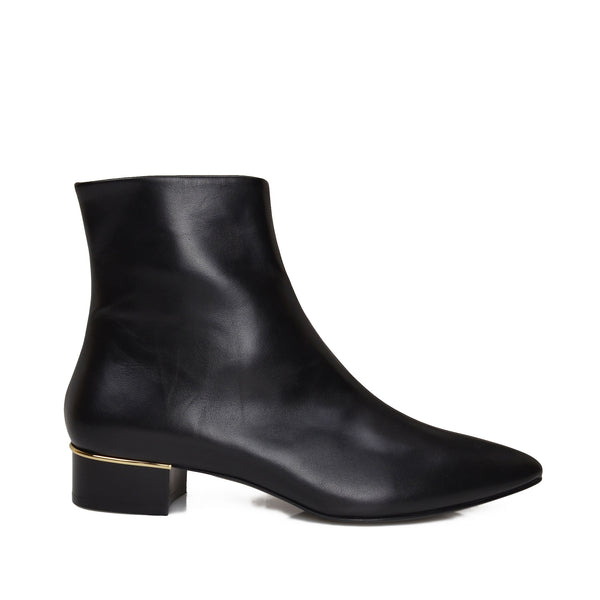 Brigitta Boot  - Black Leather - Online Exclusive