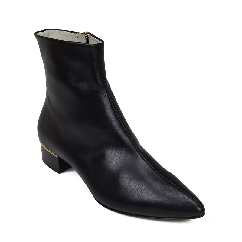 Brigitta Boot  - Black Leather - Soho Exclusive