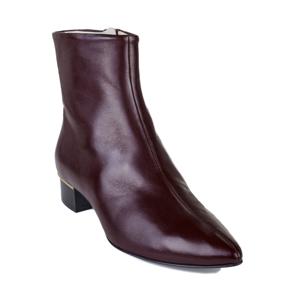 Brigitta Boot  - Wine Leather - Online Exclusive