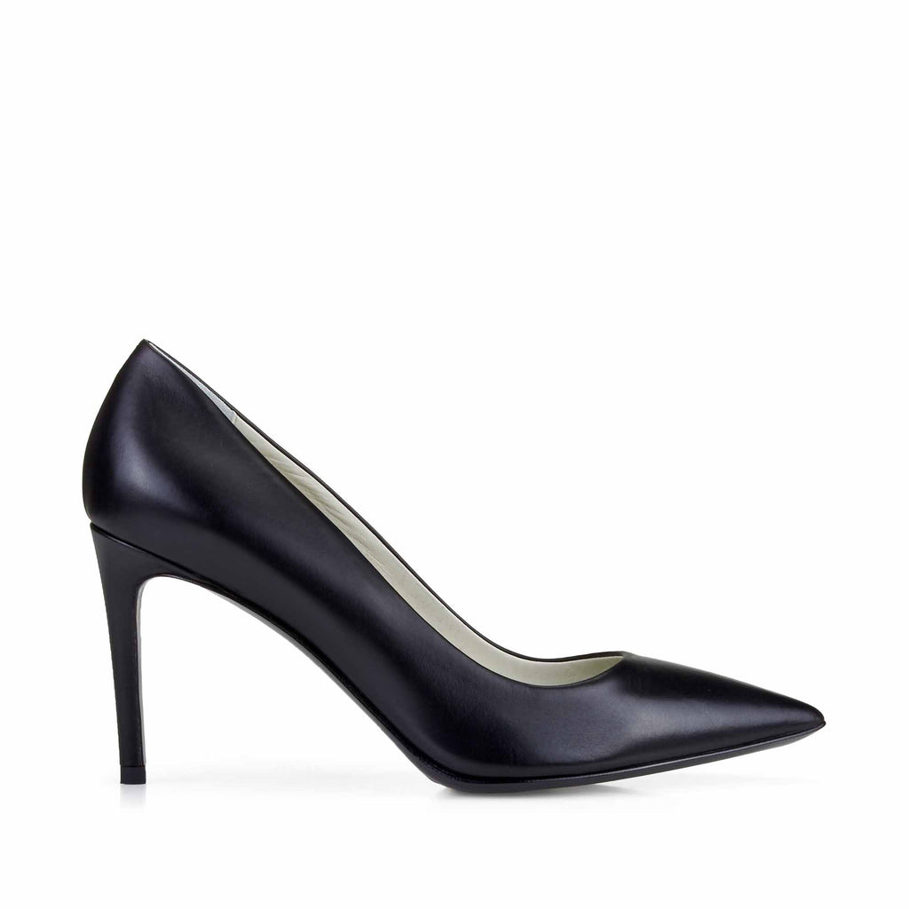 Elisa Leather Pointed-Toe Pump, 3-Inch