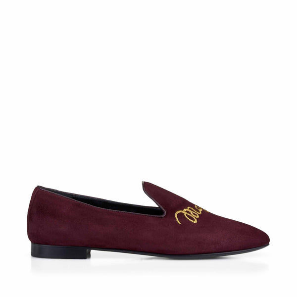 Sharon Loafer - Soho Exclusive - Wine Suede