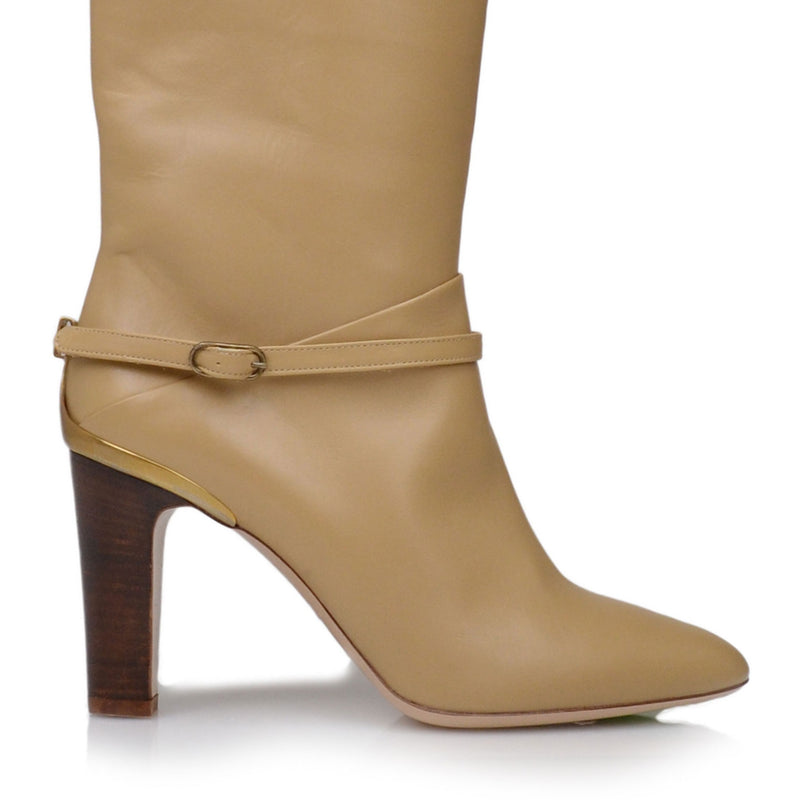 Vanessa Boot  - Vanilla Leather - Online Exclusive