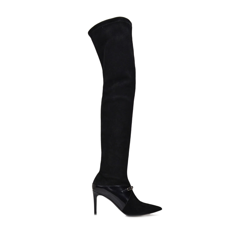 Isa Boot  - Black Suede - Online Exclusive