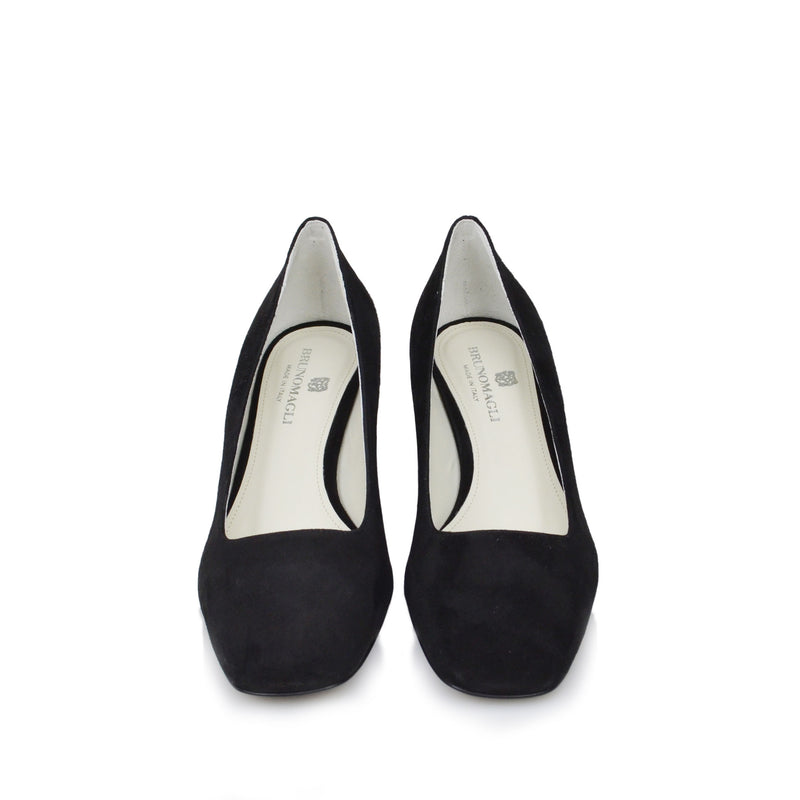Violet Pump  - Black Suede - Online Exclusive